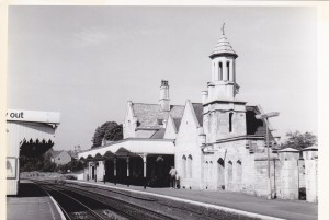 Stamford Station in 1987, the year we opened the shop here. © Robert Humm.