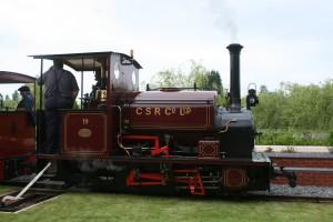Lautoka No 19.  Hudswell Clarke 0-4-0ST 1056 of 1914