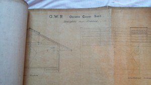 Oxford Goods Shed plans - skylights over cranes